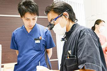 ドクターと技工士